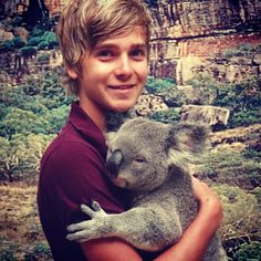 What can make this picture any cuter? It's fetus Joe & a friggin khola!?!? I mean give me a break!&
