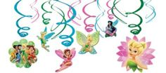 Tinker Bell Swirl Decorations - Party City