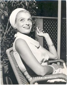 Melina Mercouri - Greek actress and politician. She was an amazing woman and loved her Country very much! <3