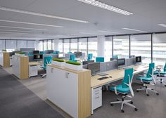 Office interiors in the traditional style are the perfect solution for companies that value hierarchy, procedures and rules. #MYoffice #MakeYourSpace