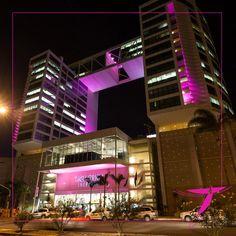 0f1c0990ff O Taguatinga Shopping está rosa para lembrar as mulheres da importância do  autoexame. Nós estamos juntos na luta contra o câncer de mama!  OutubroRosa