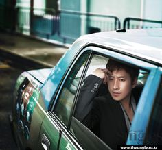 """Lee Sun Gyun is """"A Lonely City Hunter"""" for the December 2012 issue of ..."""