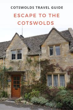 The Cotswolds enchant and delight with their picturesque villages, lush bountiful hills, enchanting valleys and spectacular scenery. Find out more! Travel Pics, Travel Ideas, Travel Guide, Cotswold Way, England Top, Walk In Bath, Cotswold Villages, Castle Combe, Day Trips From London