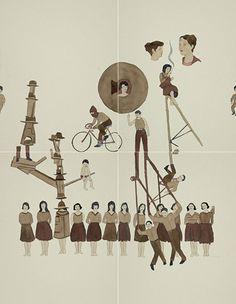 Ilustración de Marcel Dzama