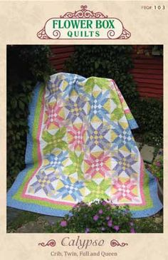 """""""Calypso"""" at Flower Box Quilts"""