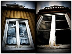 resubmitting as a diptych - thanks to my dear friend *stateofapathy for giving his final touch to it! Dear Friend, Abandoned Places, Blinds, Industrial, Deviantart, Architecture, Derelict Places, Roller Shutters, Arquitetura