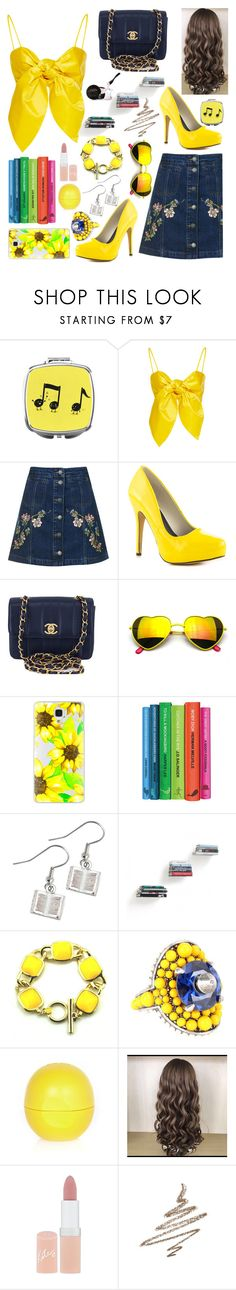 """""""Home: Beauty and The Beast"""" by superswimmerca ❤ liked on Polyvore featuring Topshop, Michael Antonio, Chanel, Revo, Casetify, Umbra, Gucci, River Island, Rimmel and Anastasia Beverly Hills"""