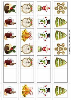 Preschool Christmas, Christmas Crafts For Kids, Christmas Activities, Christmas And New Year, Autism Teaching, Preschool Learning, Preschool Activities, Christmas Worksheets, Christmas Printables