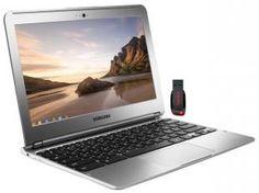 Samsung Chromebook 303C12 Exynos 5 Dual 1.7GHz - 2GB  16GB Google Chrome OS LED 11,6 + Pen Drive 16G  Por R$ 1.039,00  em até 10x de R$ 103,90 sem juros no cartão de crédito  ou R$ 935,10 à vista.  Compre com cartão Luiza e tenha mais vantagens.