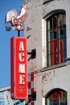 Acme Feed & Seed neon sign - Downtown Nashville   by SeeMidTN.com (aka Brent)