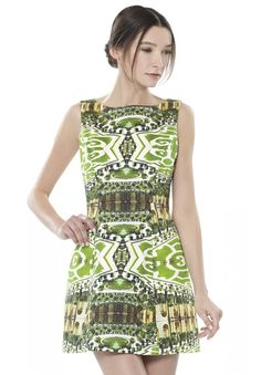 Alice + Olivia Dress - Carrie Mirrored Garden