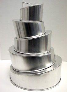 topsy turvy cake pans!