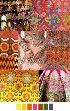SUNDARA from Pattern Curator Design trend and mood board 2016 Fashion Trends, 2015 Trends, Fashion Colours, Colorful Fashion, Fashion Patterns, Pinterest Trends, Color 2017, Fashion Forecasting, Moda Fashion