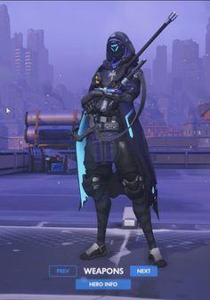 Overwatch - Ana (Sombra)
