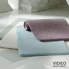 Memory Foam Cushioned Bath Rug...comfy