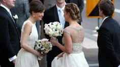 rose byrne as a bridesmaid in real life!