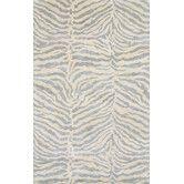 "Found it at Wayfair - Norwalk Light Blue & Ivory Animal Print 2'y"" x8' runner $160"