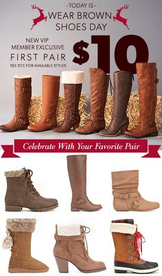 Get your first style for only $10 when you sign up as a JustFab VIP! It's simple: First, take our Style Quiz and be whisked away to your own personalized boutique curated just for you. Then, get your favorite style for as low as $10! As a VIP, you'll enjoy up to 30% off the retail price, free shipping on orders over $39, and early access to sales! Just login each month and shop or 'Skip the Month' by the 5th and you won't be charged. Hurry, this offer for new customers won't last long!