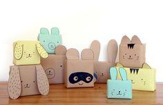 6 Idéias de embalagens criativas