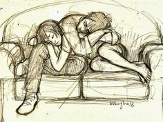 Couple Pencil Sketch By ZiZinG