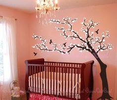 Tree wall Decal Wall Sticker Baby Nursery by DreamKidsDecal, $79.00