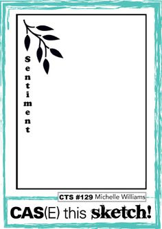 Vintage Leaves for CASE this sketch - Stampin! with Jaydee