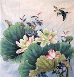 Lotus,69cm x 69cm(27〃 x 27〃),2352019-z