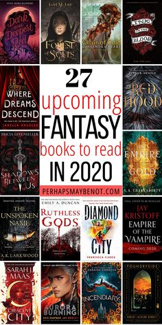 Take a seat and start adding these exciting and highly anticipated fantasy books of 2020 to your to-be-read list! 27 Highly Anticipated Fantasy Books of 2020 Fantasy Books To Read, Best Books To Read, Ya Books, I Love Books, Book Club Books, Book Lists, Best Fantasy Romance Books, Good Books To Read, Fantasy Book Series