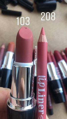 Makeup Kit, Skin Makeup, Makeup Lipstick, Lipsticks, Mac Lipstick Shades, Best Lipstick Color, Nail Paint Shades, Makeup Materials, Farmasi Cosmetics