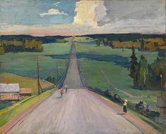 Нисский Георгий Григорьевич (1903-1987) «Велопробег»