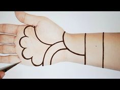 Easy Arabic Mehndi Design | मेहँदी लगाने का सरल तरीका | Simple Mehendi Designs | New Henna for Hands - YouTube Simple Arabic Mehndi Designs, Stylish Mehndi Designs, Mehndi Simple, Latest Mehndi Designs, Mehndi Designs For Beginners, Mehndi Designs For Hands, Henna Tattoo Hand, Hand Tattoos, Creativity