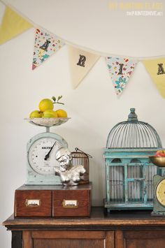 DIY personalised fabric bunting flags - a complete tutorial | The Painted Hive