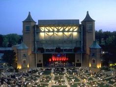 Starlight Theatre  Kansas City, Missouri.  Loved this place.  Summer doesn't feel the same without Starlight!