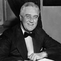 """Franklin Roosevelt (1884-1952), was a personal friend of Daisy's, who lived near her uncle in the Hudson River Valley. It was him who convinced Daisy to donate her uncle's estate """"Hyde Park"""" to the government as a national park."""