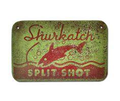 Shurkatch Split Shot Sign