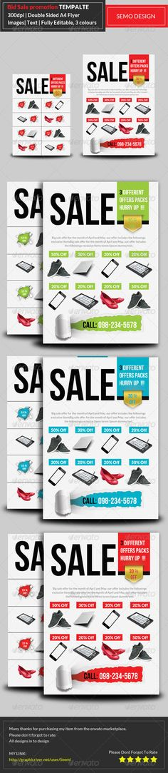 Business Product Flyer  Poster  Flyer Template And Visual Identity