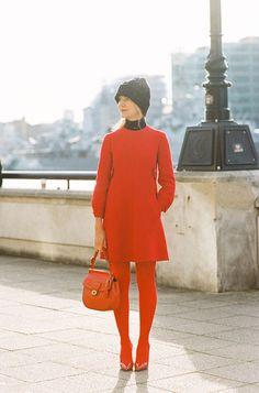Natalie Joos (London Fashion Week February 2012) by Vanessa Jackman