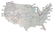 Everyone knows about the Appalachian Trail, Pacific Crest Trail, and even the Continental Divide Trail, but did you know there are a number of other great long-distance hiking routes in the U. Thru Hiking, Hiking Tips, Camping And Hiking, Camping Gear, Backpacking Trails, Camping Outdoors, Hiking Usa, Ultralight Backpacking, Hiking Places