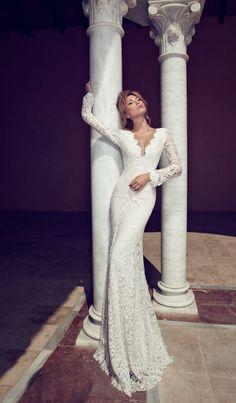 Wedding Dresses by Julie Vino Fall 2014  | bellethemagazine.com