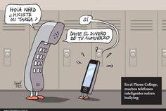 Bullying entre móviles.
