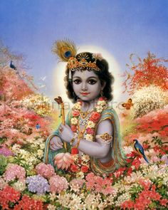 Maha Mantra: Hare Krishna Hare Rama by one of my favorite kirtanis.Love his voice so much Baby Krishna, Cute Krishna, Radha Krishna Love, Krishna Temple, Krishna Mantra, Lord Krishna Images, Krishna Photos, Krishna Pictures, Saint Germain