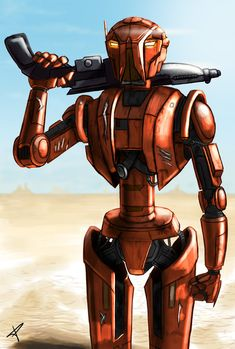 HK-47 by DarthPonda