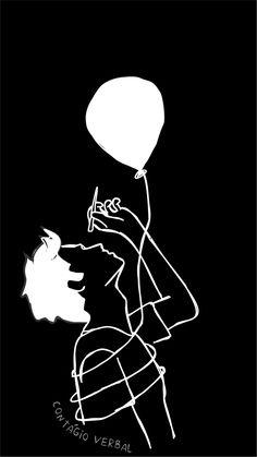 Outline Art, Outline Drawings, Pencil Art Drawings, Art Sketches, Cute Black Wallpaper, Black Aesthetic Wallpaper, Black Background Wallpaper, Phone Wallpaper For Men, Emoji Wallpaper