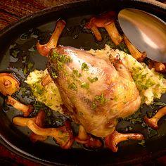Recept: Fazant 'en coffre' (op het karkas gebakken)