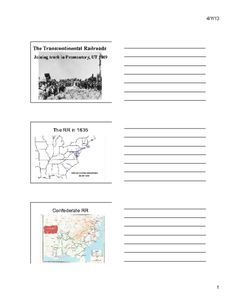 The Republican Economic Plan: The Transcontinental Railroads and Reconstruction (Content Presentation) Social Studies, American History, Presentation, War, Content, How To Plan, Us History, Sociology, Social Science