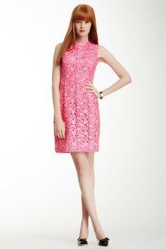 della lace sheath dress on HauteLook