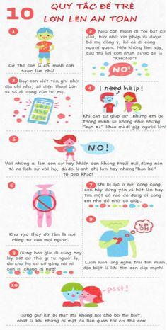 Ikids - đồ chơi mẫu giáo — 10 quy tắc an toàn bố mẹ cần dạy con