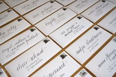 calligraphy on envelopes – www.monogramsandsignets.com Calligraphy Envelope, Monograms, Envelopes, Script, Fonts, Stationery, Graphic Design, Projects, Designer Fonts