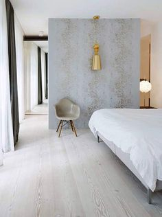 Beautiful simplicity for a bedroom