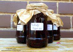 Jams & Pickles – Awfully Tasty Sour Cherry Jam, Thing 1, Pickles, Tasty, Wine, Coffee, Drinks, Bottle, Kaffee